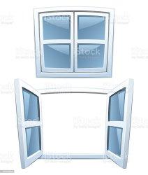 cartoon windows illustration open building architectural feature exterior architecture beauty ai file