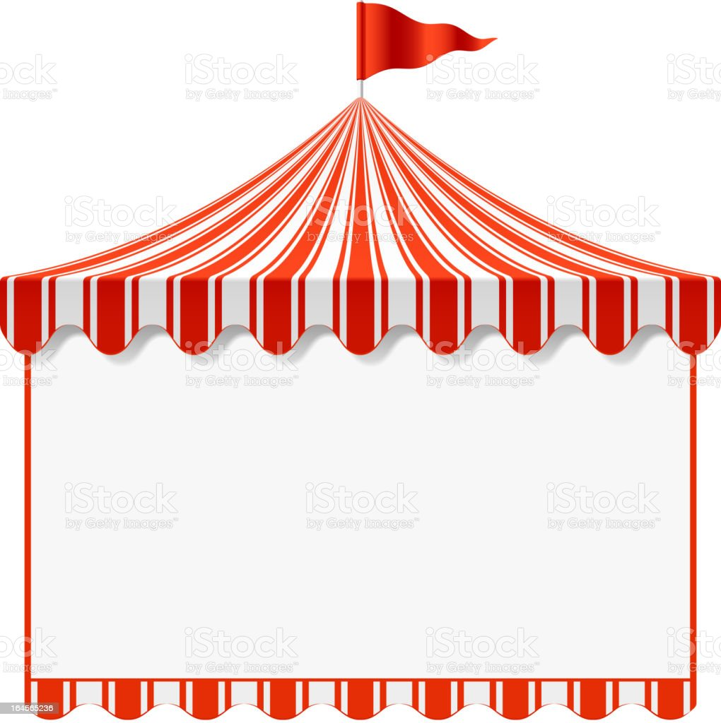 circus tent illustrations