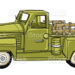 Green Pickup Truck Tin Metal Car Toy Miniature Stock Illustration Download Image Now Istock