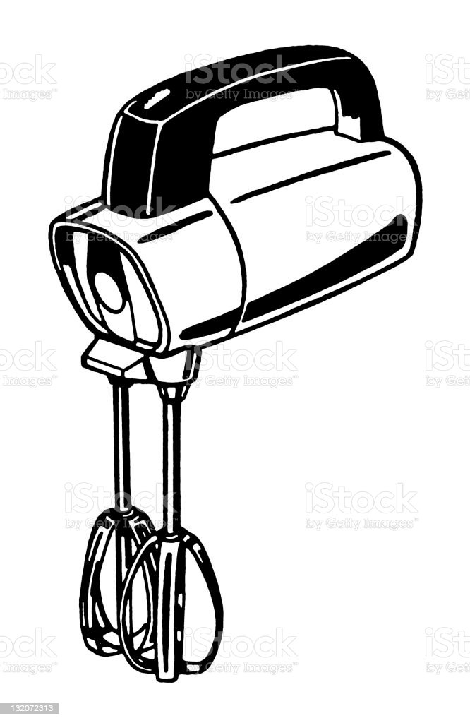 Mezclador Manual Illustracion Libre de Derechos 132072313