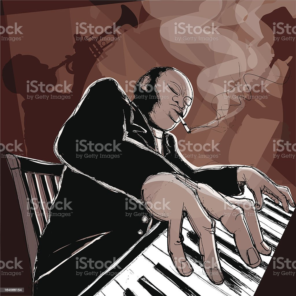 top blues music clip art vector