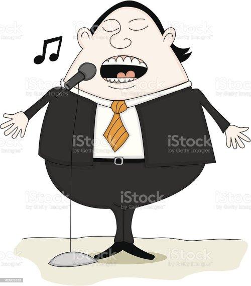 small resolution of opera singer royalty free opera singer stock vector art amp