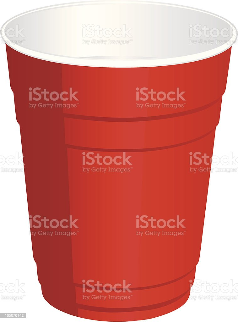red plastic cup illustrations