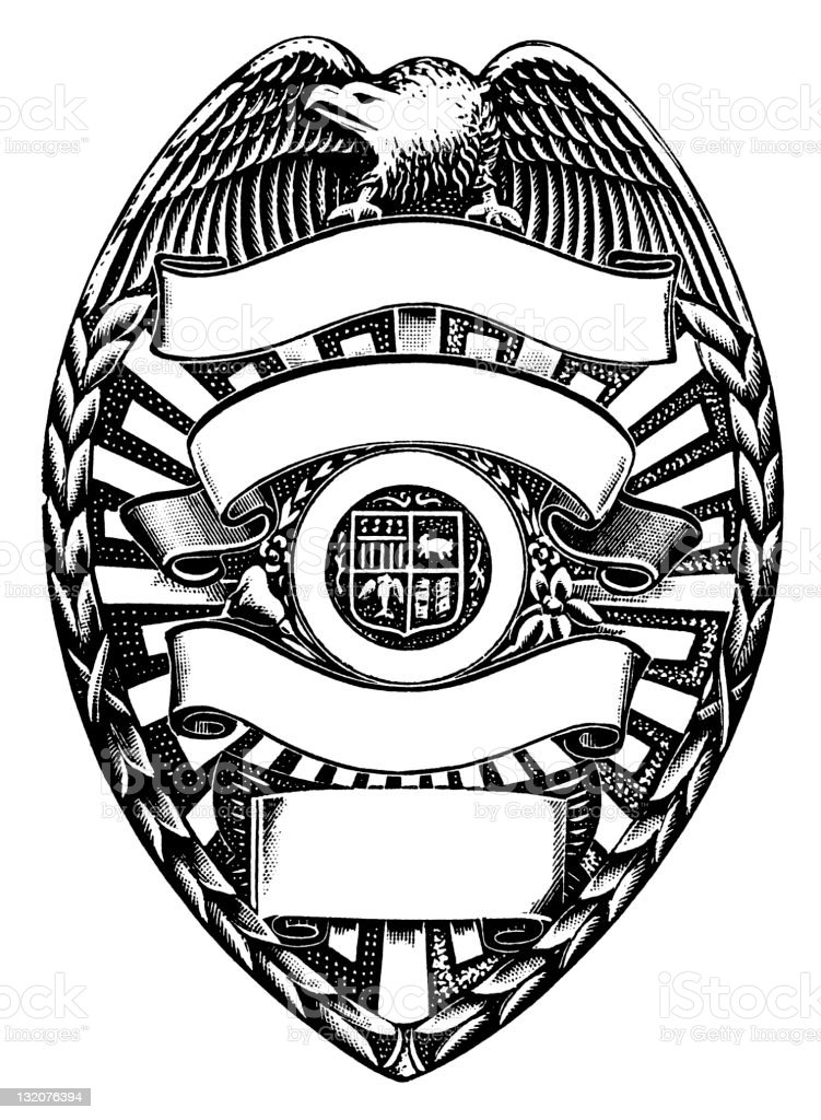 Police Badge Stock Vector Art & More Images of Animal