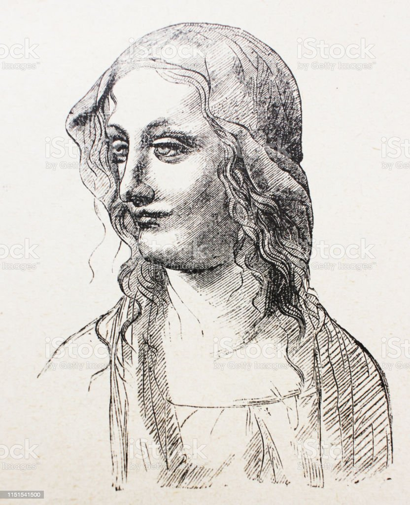 sketch of woman by