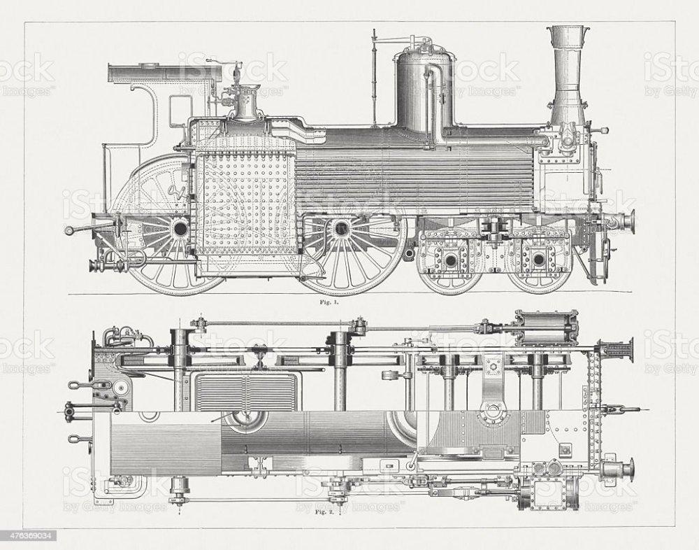 medium resolution of steam locomotive wood engravings published in 1877 royalty free steam locomotive wood engravings