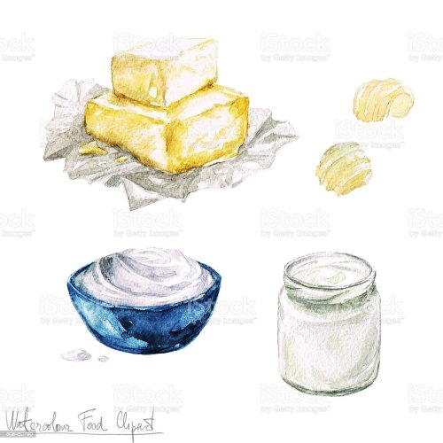 small resolution of watercolor food clipart dairy products and cheese royalty free watercolor food clipart dairy products