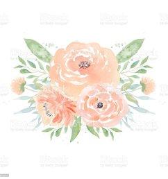 watercolor wedding flowers watercolor peonies and leaves floral arrangement wedding clipart royalty  [ 1024 x 1024 Pixel ]