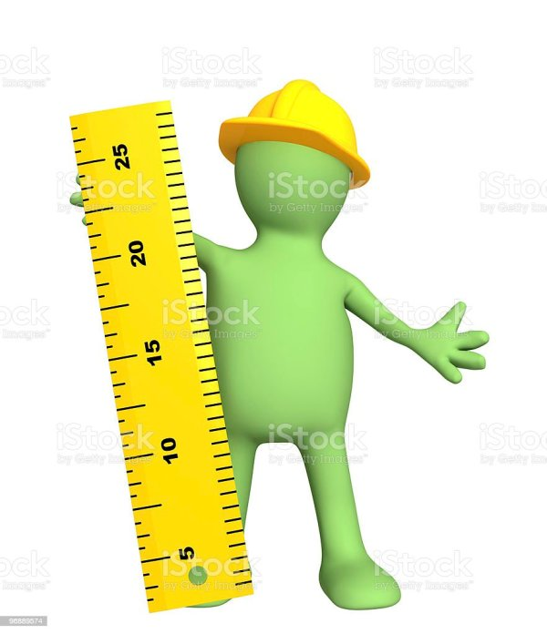 3d Puppet Builder With Ruler Stock &