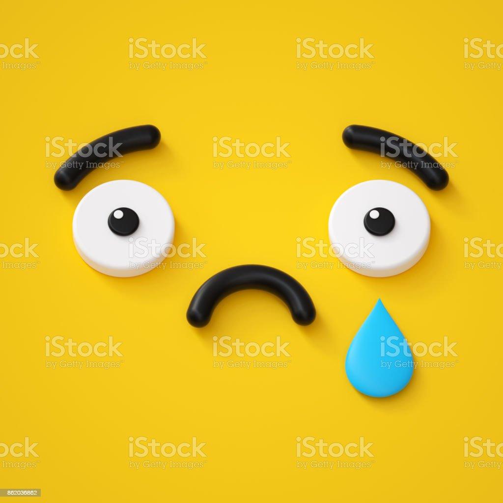 best sad face stock