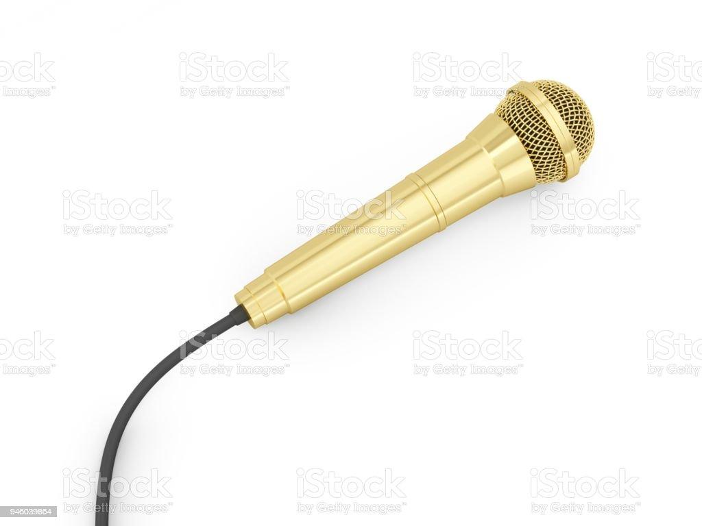 best golden mic stock