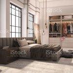 3d Rendering Moderne Schlafzimmer Luxussuite Mit Kleiderschrank Und Begehbaren Kleiderschrank Stockfoto Und Mehr Bilder Von Architektur Istock