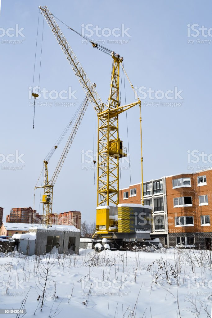 abandoned construction of a