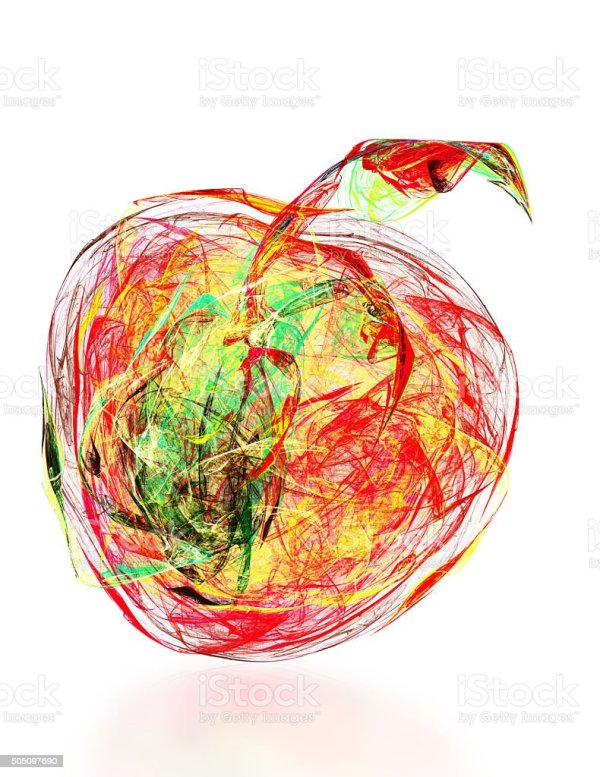 abstract apple stock &