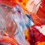 Abstrakte Kunst Hintergrund Olgemalde Auf Leinwand Dekoration Farben Stockfoto Und Mehr Bilder Von Abstrakt Istock