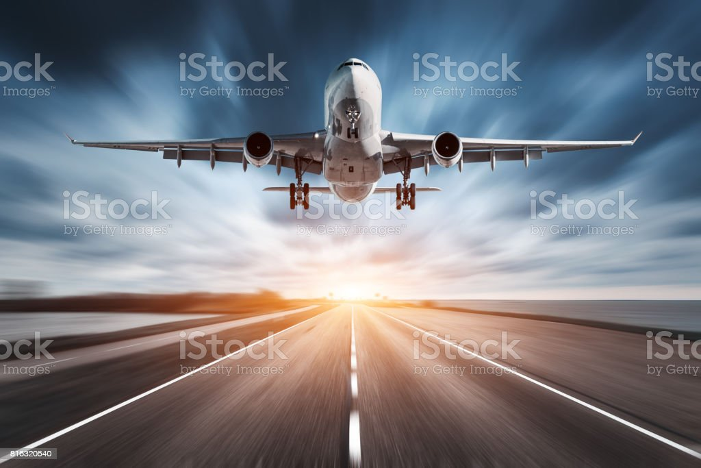 best airplane stock photos