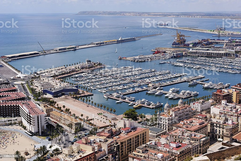 alicante harbour and marina