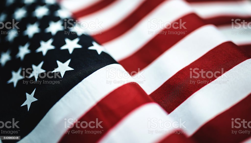 best american flag stock