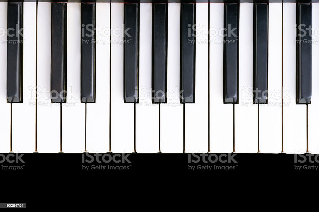 best piano key stock