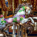 Antique Carousel Merry Go Round Horse Stock Photo Download Image Now Istock