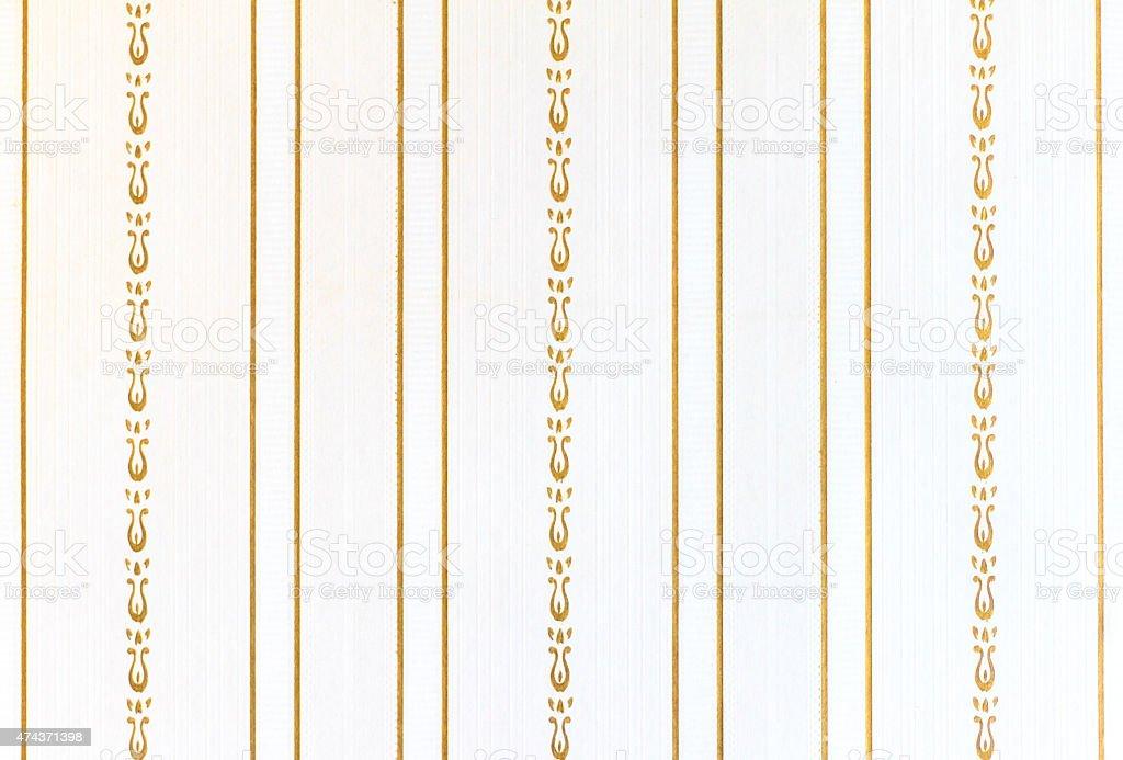 Trova una vasta selezione di bordi di carta da parati per il bricolage e fai da te a prezzi vantaggiosi su ebay. Antico Siclian Sfondo Di Carta Da Parati Righe Bianco E Oro Fotografie Stock E Altre Immagini Di 2015 Istock