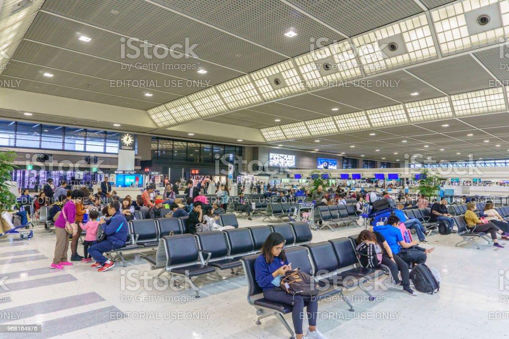 Tokyo Japan April 23 2018 Inside Of Narita Airport Terminal 2 In Japan Narita Airport Is The Predominant International Airport In Japan Stock ...