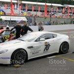 Aston Martin V8 Vantage Race Car Stock Photo Download Image Now Istock