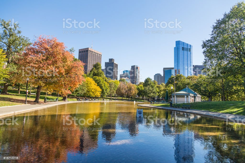 Fall New England Wallpaper Royalty Free Boston Common Pictures Images And Stock