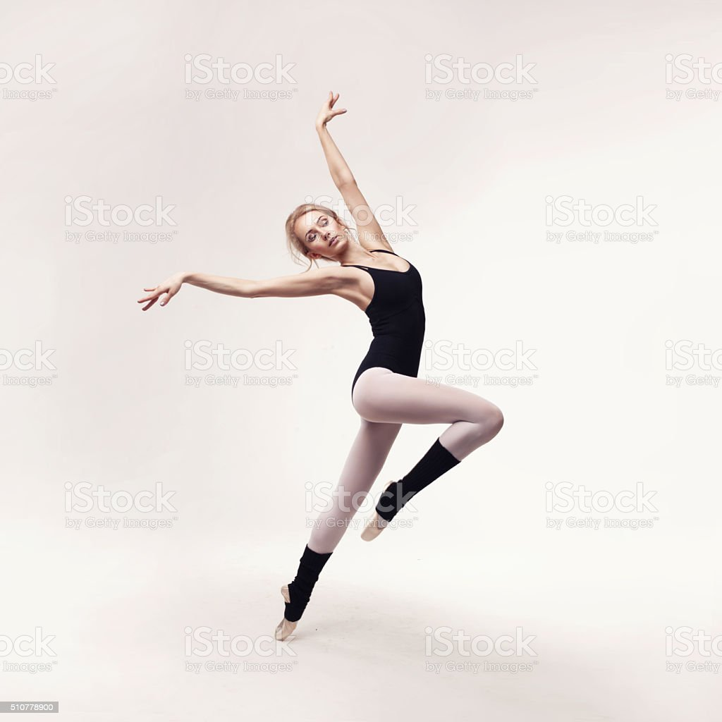 ballerina in black outfit