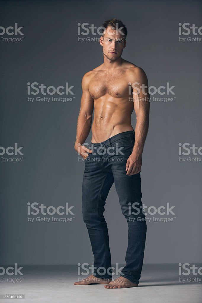 Blond Hair Shirtless Male Men Stock Photos Pictures ...