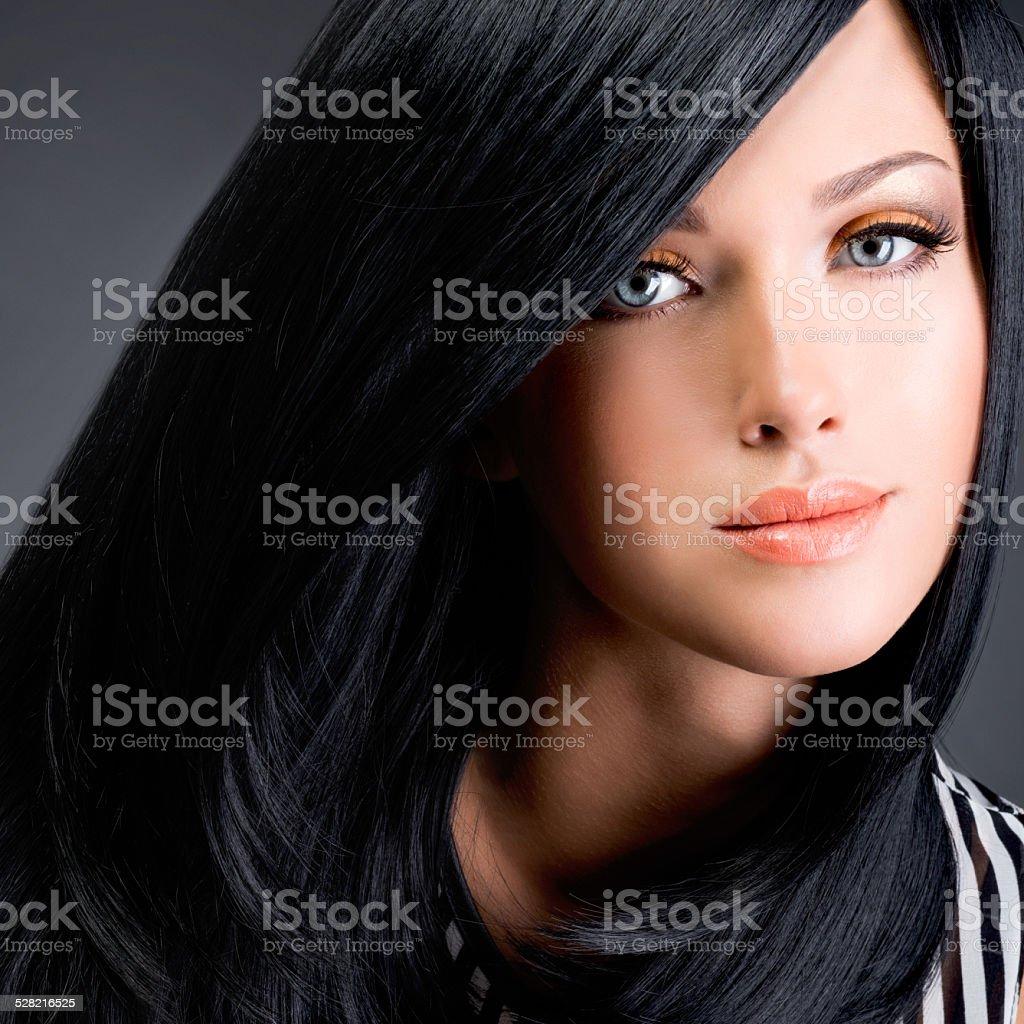 royalty free black hair