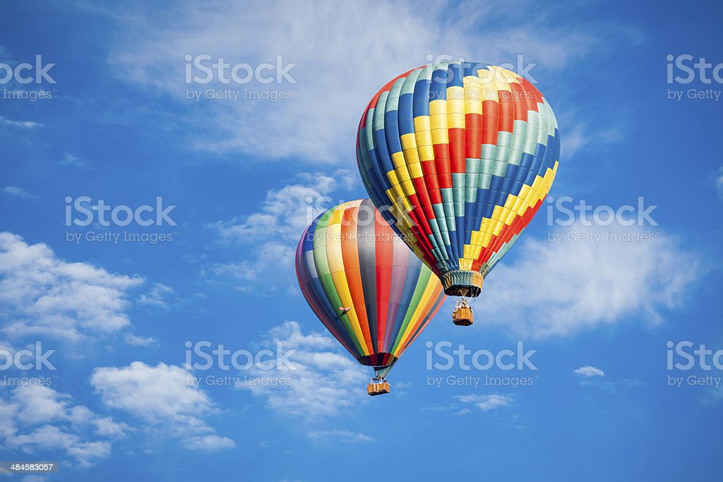 blue sky balloons two