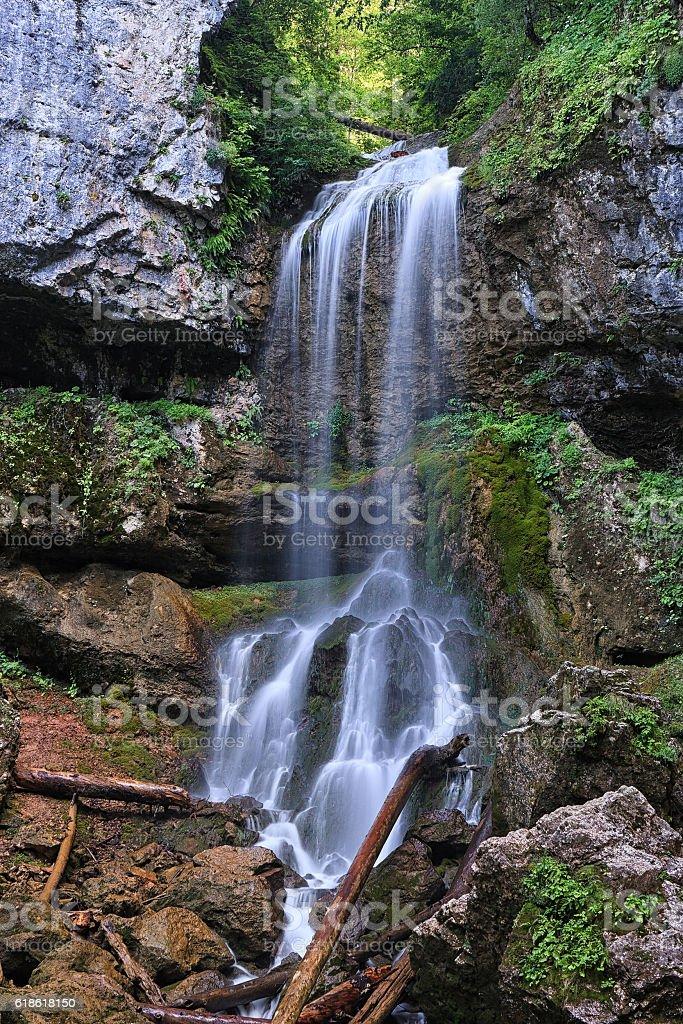 Falls Wallpaper Waterfall Beautiful Mountain Waterfall Vertical Scenery Landscape