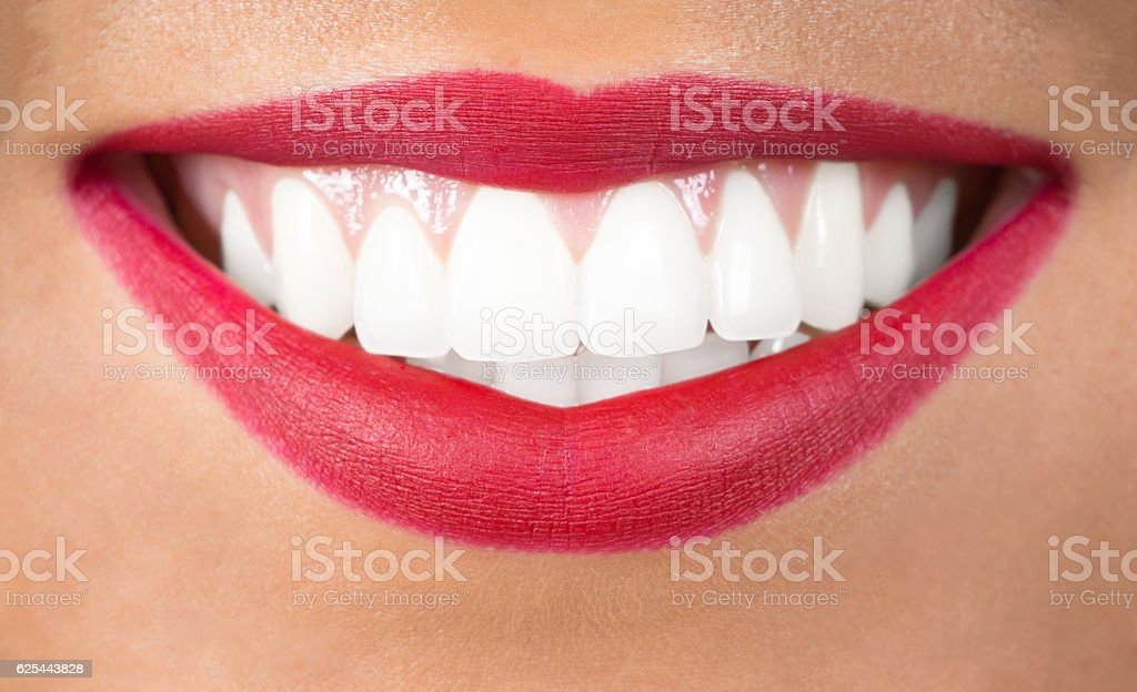 Beautiful Smile With Teeth Stock Photo - Download Image ...