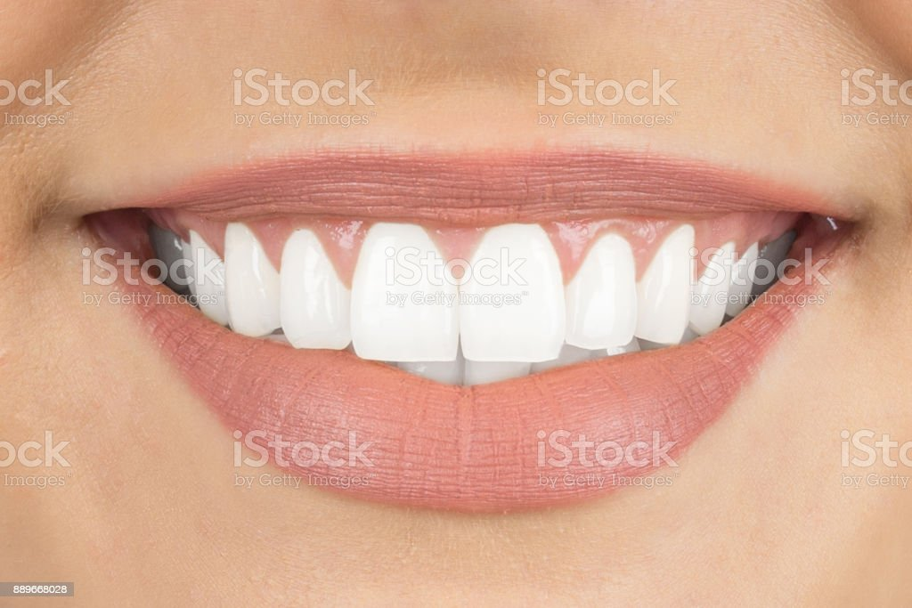 Beautiful Smile With White Teeth Stock Photo - Download ...