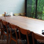 Beautiful Wooden Dining Table And Chair With Modern Interior Style Stock Photo Download Image Now Istock