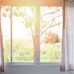 Bedroom Window In The Morning Room Sunlight Through Open Curtains Window Lights Stock Photo Download Image Now Istock
