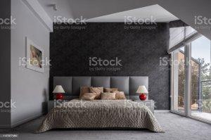 bedroom modern bed