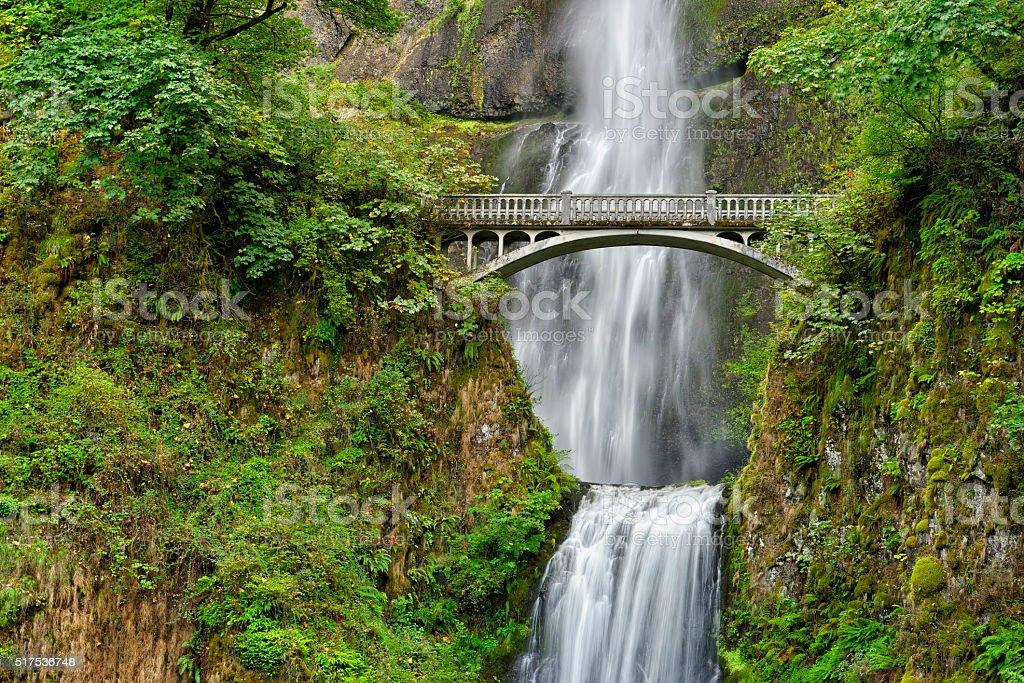 Multonomah Falls Wallpaper Benson Ponte Sobre Cataratas De Multnomah Rio Columbia