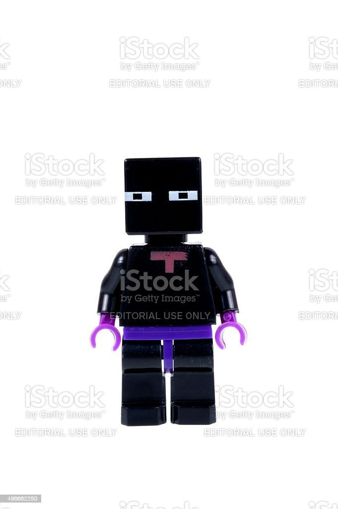 black enderman minecraft minifigure