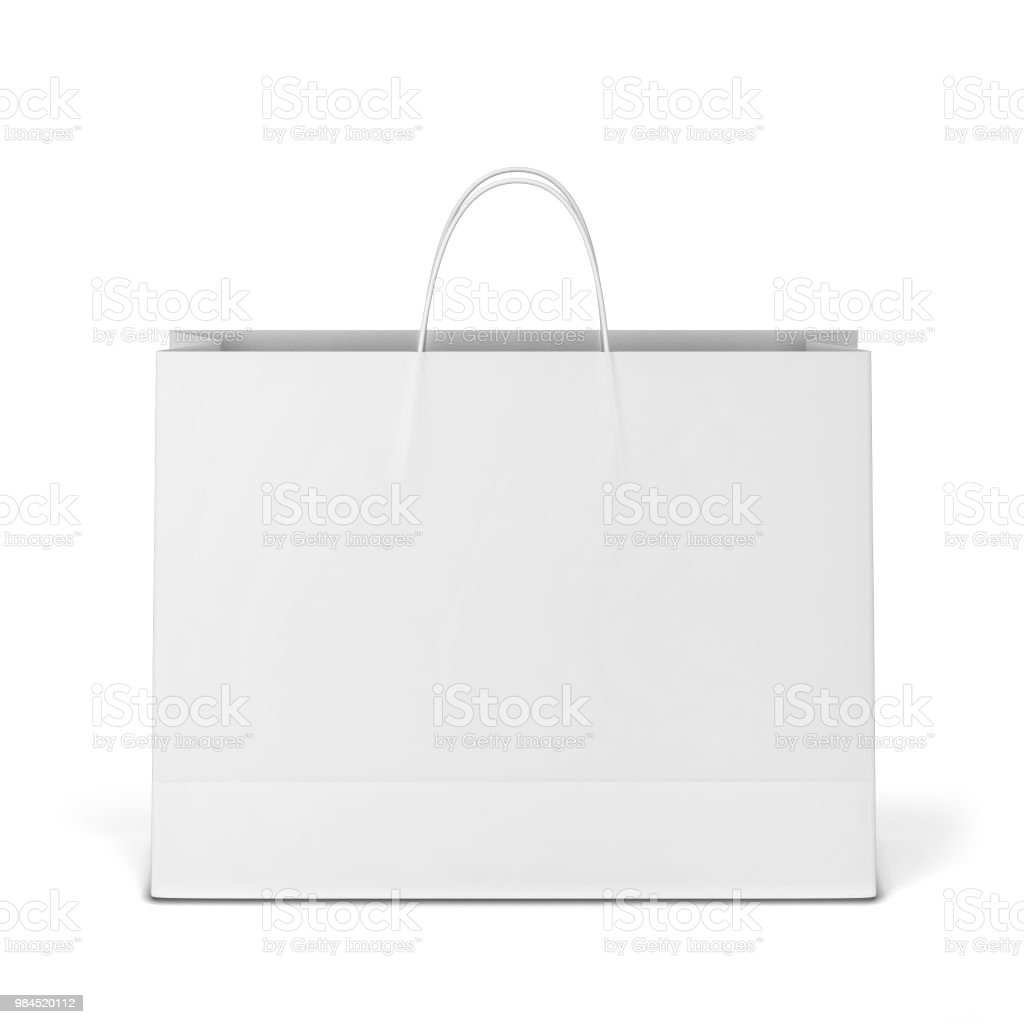 You can make a simple and elegant presentation of your product branding with this paper bag mockup template. Blank Shopping Bag Mockup Stock Photo Download Image Now Istock