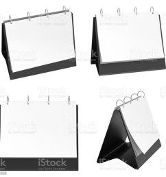 blank table top flip chart easel binder royalty free stock photo [ 1024 x 992 Pixel ]