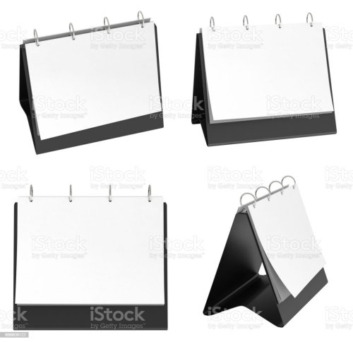 small resolution of blank table top flip chart easel binder royalty free stock photo