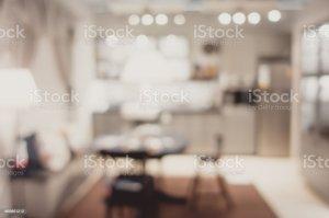 kitchen background royalty blurred dinning modern bokeh backdrop lifestyle