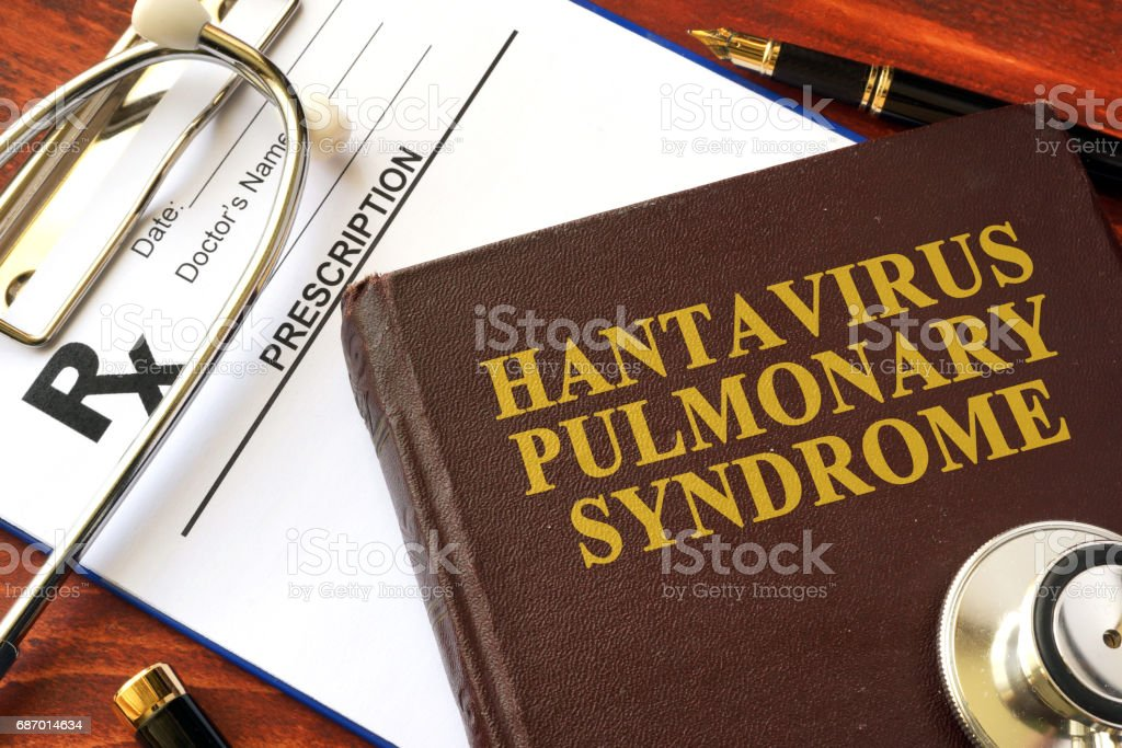 Book With Title Hantavirus Pulmonary Syndrome Stock Photo ...