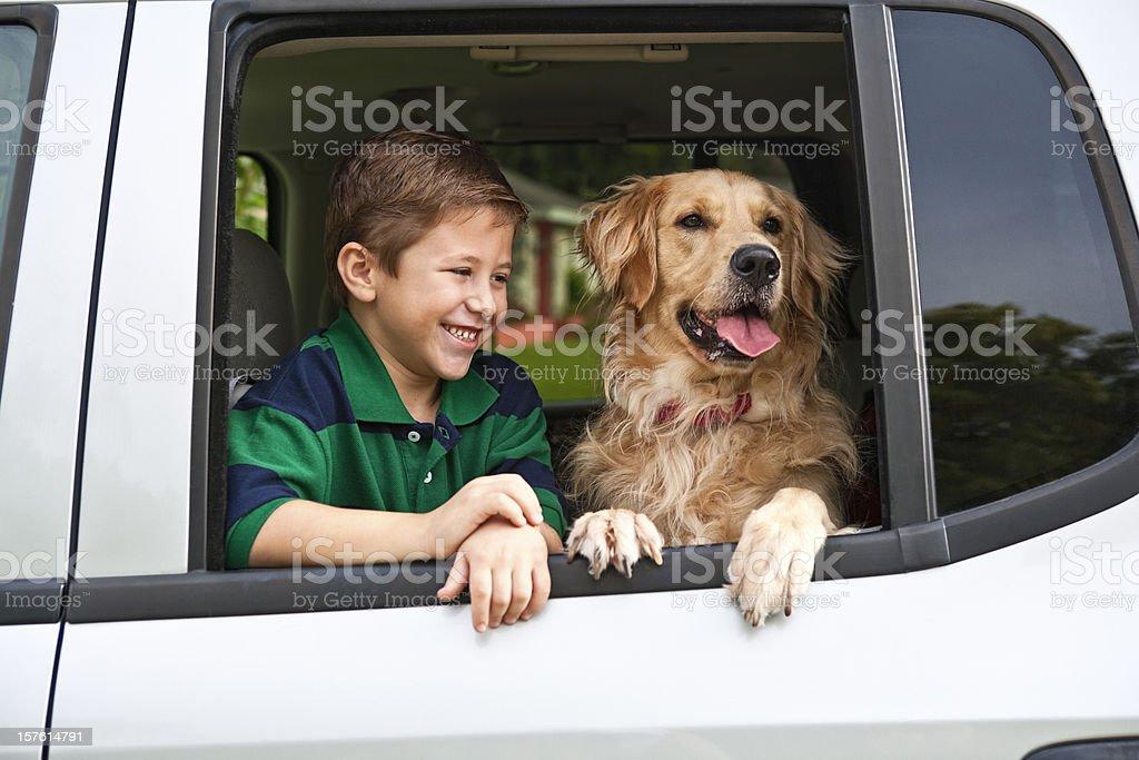 Boy Amp His Dog Stock Photo - Download Image Now - iStock