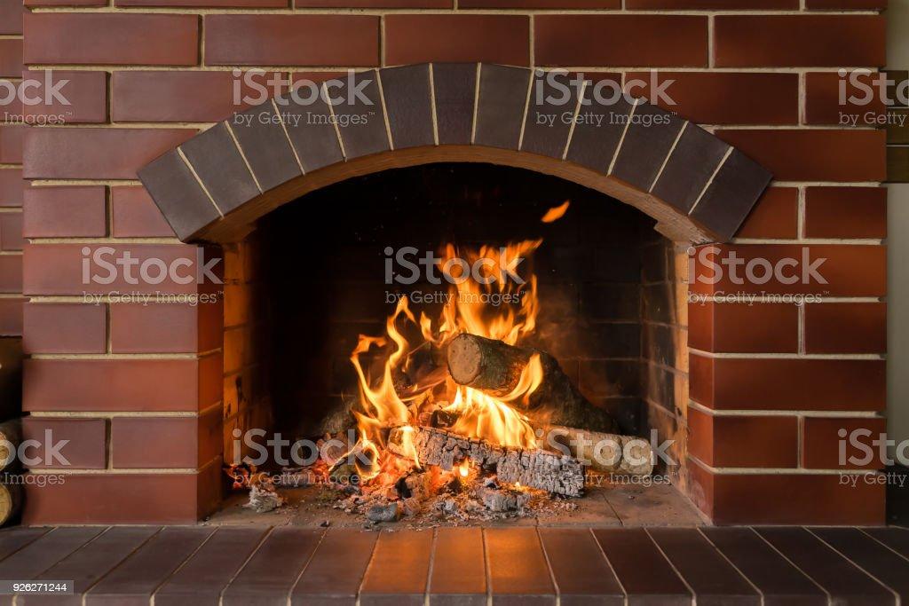 best fireplace stock photos