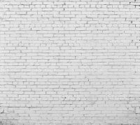 Brick Wall Painted With White Paint Stock Photo & More ...