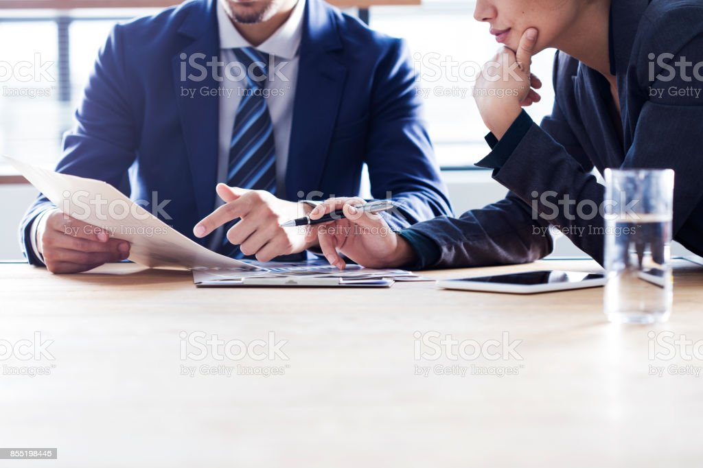 best business meeting stock
