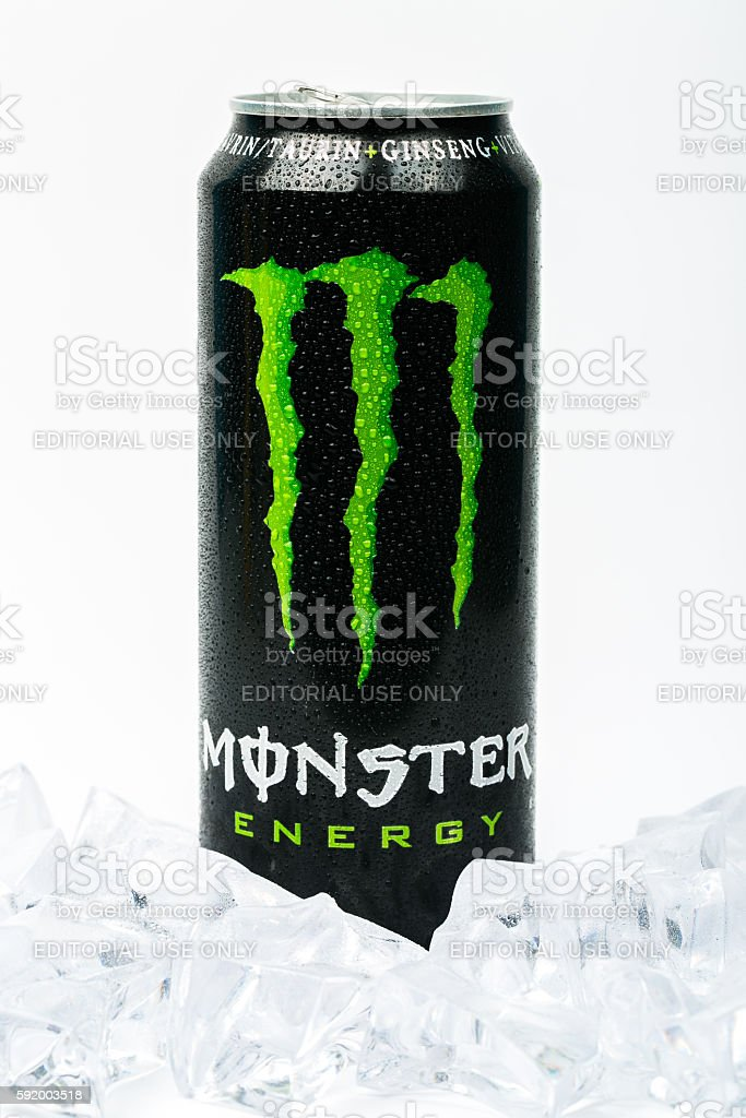 Monster Energy Drink Stock Photos. Pictures & Royalty-Free Images - iStock